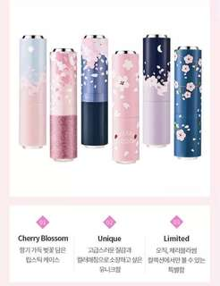 Etude house cherry blossom dear my lips talk lip case