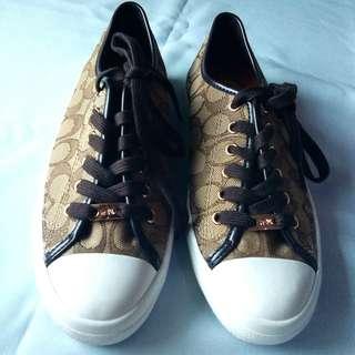 Coach Signature Sneakers in Khaki