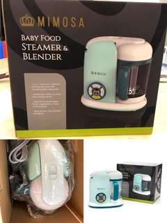 Mimosa baby food steamer and blender