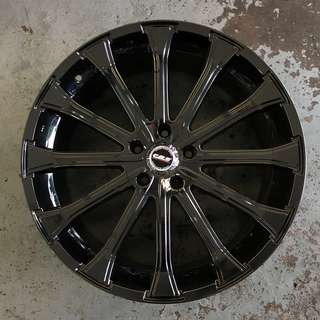 20 Inch Black Chrome Rims