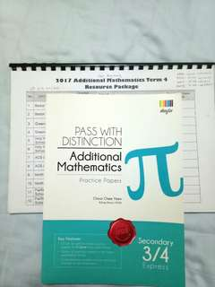 Upper Sec Additional Math Practice Book
