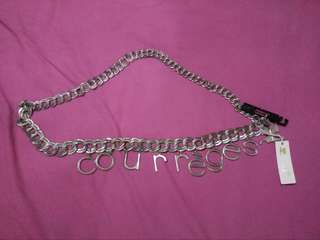 Courrēges chain belt