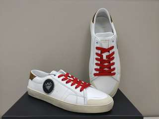 Saint Laurent Paris Off-White low cut 紅色鞋帶 sneaker