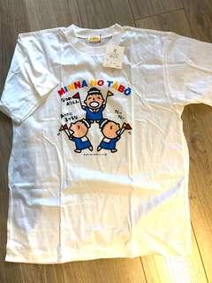 Minna no tabo 大口仔1992 t-shirt