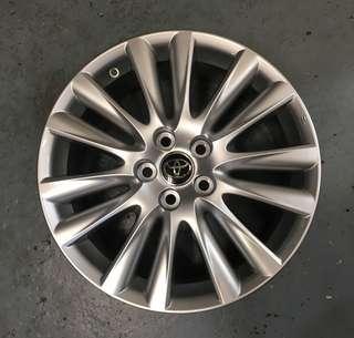 18 Inch Toyota Rims