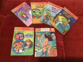 NOW 1980 ONLY! Leapfrog Leapreader Junior Bookset: Toddler Milestones