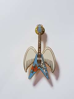 Los Angeles Hard Rock Cafe Guitar Pin, Collectible