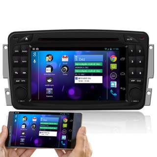 BENZ MECERDES W203 W209 ANDROID DVD PLAYER