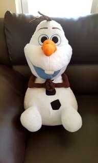 Olaf frozen big stuff toy