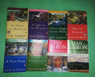 Mitford series by Jan Karon (Penguin Classic)