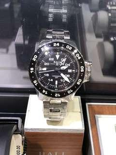 Ball Hydrocabon aero Gmt on bracelet watch