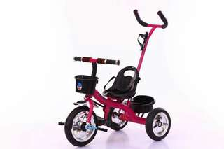 TODDLER WITH HANDLE CONTROL BIKE UP TO 25KG OF WEIGHT