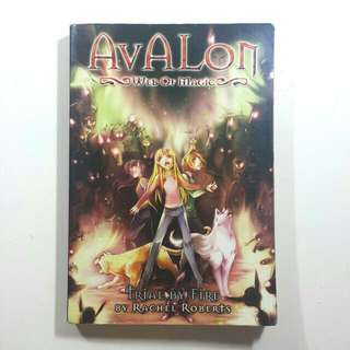 Avalon: Web Of Magic (Trial By Fire) by Rachel Roberts