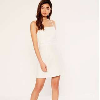 Glassons White Linen Dress - Size 10