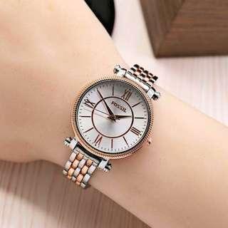 jam tangan fossil rantai