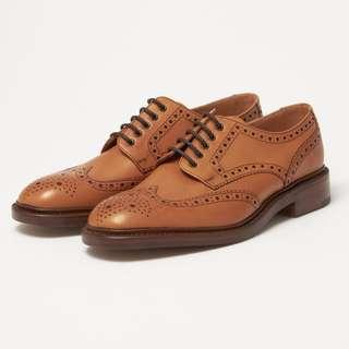 Loake 1880 Chester Tan Brogue Tricker's UK8 經典皮鞋