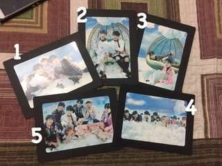 THE WINGS TOUR PAPER FRAME (GROUP) - EACH