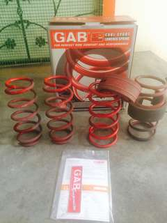 GAB Lowered Spring for Myvi