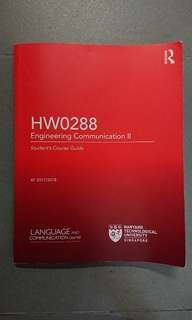 HW0288 Engineering Communication 2