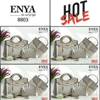 Tas ENY* Lavenza Culture 3in1 Taiga leather Hardware Gold 8803  (04)*