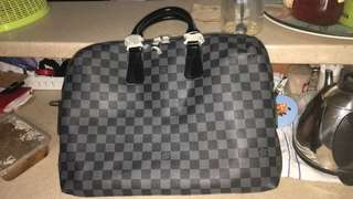 Laptop bag with sling LV
