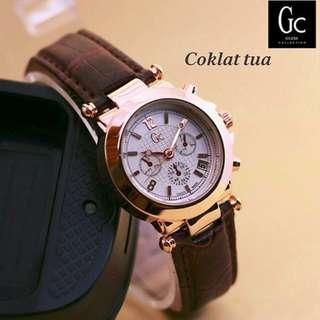jam tangan GC min kulit 4538