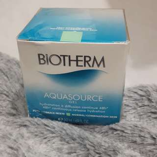Biotherm aquasource gel for normal/combination skin