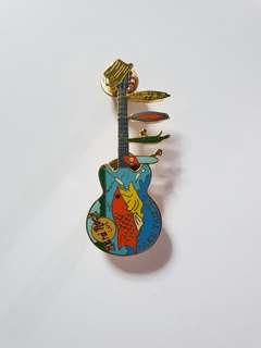 Lake Tahoe Hard Rock Cafe Guitar Pin, Collectible