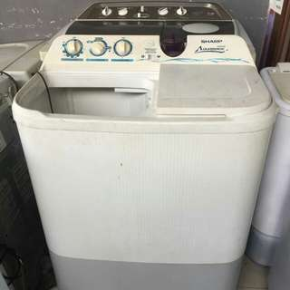 Mesin Cuci Sharp Aquamatic 9.5 Kg