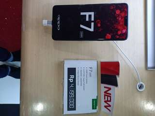 oppo F7 black diamont limited