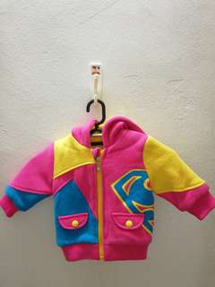 Authentic super heroes girls jacket