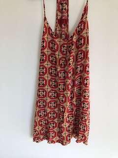 Tigerlily red slip dress