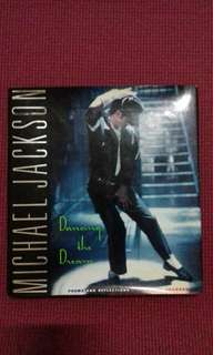Michael Jackson Dancing the dream Hard cover Book Rare First Pressing