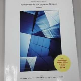 Fundamentals of Corporate Finance 9E by Richard A. Brealey