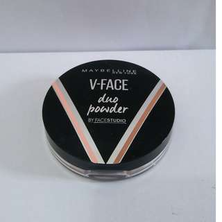 Maybelline V Face Duo Powder ( contour and highlight )