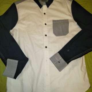 🚚 8-9成新 男 Giordano silm 修身版襯衫 清潔乾淨 商品完整
