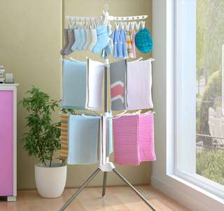 FREE POS Foldable Clothes Drying Rack