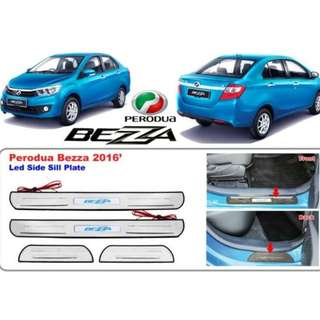 Perodua Bezza LED ABS Side Step Door Step