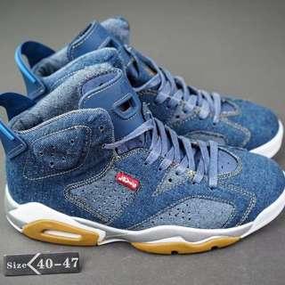 Nike Air Jordan 6 X Levis Blue
