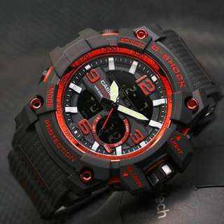 G-Shock rubber dual time G843
