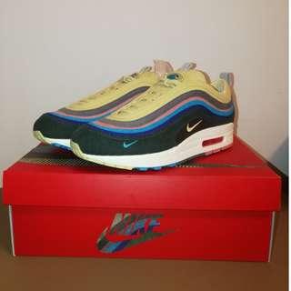 台灣公司現貨Nike Air Max 1/97 Sean Wotherspoon US8