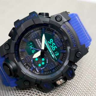 G-Shock rubber dual time G894