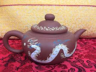 New Painted Chinese Tea Pot