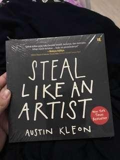 Steal Like An Artist - Austin Kleon versi Bahasa Indonesia, Packaging plastik