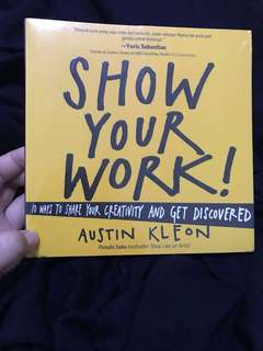 Show Your Work - Austin Kleon versi Bahasa Indonesia, Packaging plastik belum dibuka