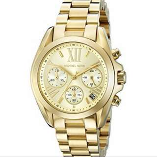 Authentic Michael Kors Ladies Gold-tone watch