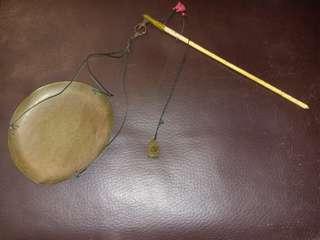 中古舊物厘戥厘秤連銅鉈