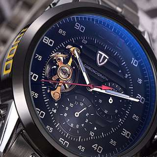 Tevise 8378 Automatic Mechanical Watch (with display base)