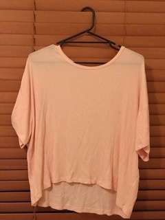 Nude Lucy boxy top L 12