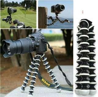 Large Flexible Grip Digital Camera Tripod (Max Weight Load: 3kgs )